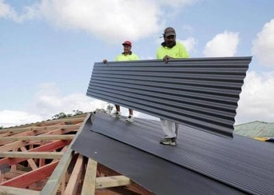 re roofing auckland shamrock staff