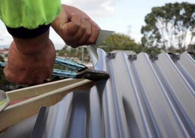 roof repair by qualified shamrock staff