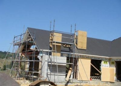 roofing construction by shamrock